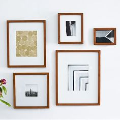 Multiples of different sizes - Gallery Frames - Acorn #westelm