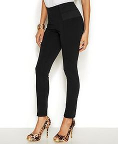 Thalia Sodi Cowl-Neck Necklace Top & Skinny Pants - Thalia Sodi - Women - Macy's