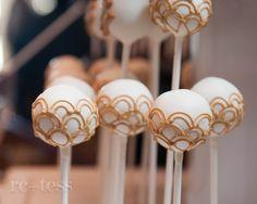Gatsby inspired cake pops!