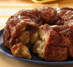 18 different recipes for monkey bread (aka caramel rolls or pull apart bread) some with canned dough some with dough made from scratch. YUM!!!
