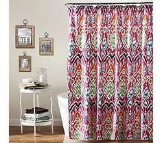 Jaipur Ikat Shower Curtain by Lush Decor