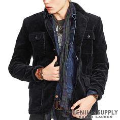 Denim & Supply Ralph Lauren/Cotton Corduroy Blazer