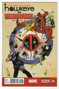 Hawkeye Vs Deadpool #0 Regular James Harren Cover (2014)