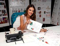 A modelo brasileira Alessandra Ambrósio já oficializou nesta terça-feira o lançamento da marca ále by Alessandra, em parceria com a Cherokee Inc