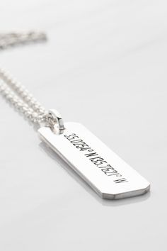 Men coordinates necklace Personalized men jewelry Personalized gift for him Custom necklace for men Silver jewelry for men - June 16 2019 at Monogram Necklace, Engraved Necklace, Men Necklace, Gold Necklace, Bracelet Men, Bracelets, Silver Jewelry, Fine Jewelry, Men's Jewelry