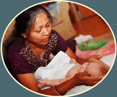 indiai babamasszázs tanfolyam otthon