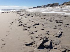 Sand clumps