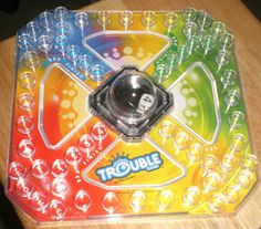 Game Time - Adapted Trouble Board Game