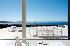 Une terrasse avec vue sur la mer... Le rêve !