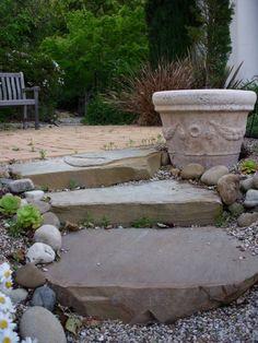Garden Stairs - Fench Kissed Blog