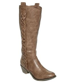 Unlisted Shoes, Country Club Wide Calf Tall Boots - Boots - Shoes - Macy's #MacysFavoriteThings