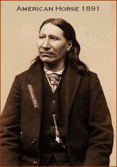 American Horse, Oglala Sioux man, member of the Sioux delegation to Washington DC, A great warrior! Native American Photos, Native American Tribes, American Indian Art, Native American History, American Indians, American Soldiers, First Nations, Navajo, Native Indian