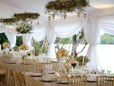 Elegance and Elephants: Lindsay and Chris' Glamorous Bush Wedding in Zimbabwe