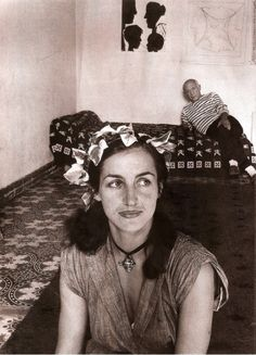 Françoise Gilot and Pablo Picasso - photo by Robert Doisneau