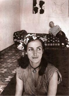 Françoise Gilot and Pablo Picasso - photo by Robert Doisneau