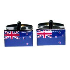 Manchetknopen Nieuw-Zeelandse Vlag