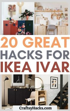 20 IKEA Ivar Hacks for Low Budgets