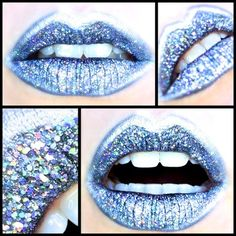 Space-age Holographic Cyber Lips https://www.makeupbee.com/look.php?look_id=95242