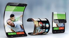 Modern Science: Foldable Samsung Smart Phone