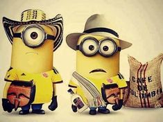 @Daniela Pirazan ...Minions paisas..... Jaaaaaaaaaaaaaaa ME MORIIIIIIII DIVINOSSS