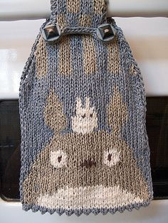 Ravelry: Intarsia Totoro Chart pattern by brella