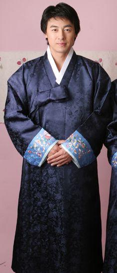 Winter hanbok.