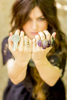 Azizeh Boho Rings and Jewels by Madame De Rosa