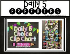 Daily 5 Book Study-2nd Edition-Chapters 1-2-Tons of ideas & freebies!