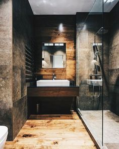 Goodmorning You ALL #allofarchitecture Wooden bathroom by Pavel Isaev - Architecture and Home Decor - Bedroom - Bathroom - Kitchen And Living Room Interior Design Decorating Ideas - #architecture #design #interiordesign #homedesign #architect #architectural #homedecor #realestate #contemporaryart #inspiration #creative #decor #decoration