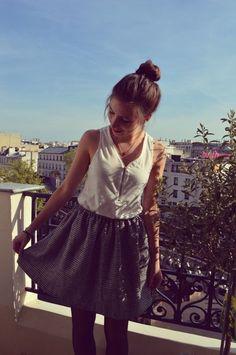 Facile : coudre une jupe sans patron | Filoute