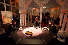 Le duel final a opposé Kool Shen à Alexis Fleur #Winamax #SISMIX #poker #music #festival. Crédit Photo: Caroline Darcourt