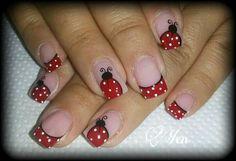 Manicure Y Pedicure, Gel Nails, Nail Polish Designs, Nail Designs, Nail Picking, Polka Dot Nails, Summer Nails, Nail Art, Style