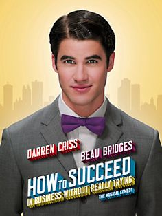 Saw Darren Criss in this on a Drama trip to NY! One of his last days, though, so his voice was really tired, but he was still great!