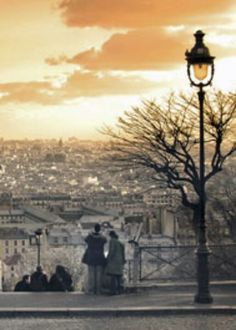 View from the top of Montmartre..