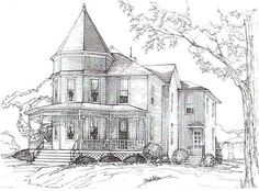 41 Best House Drawings Images House Drawing Architecture