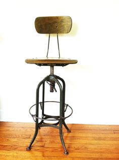 Industrial Stool From The Toledo Metal Furniture, Co.