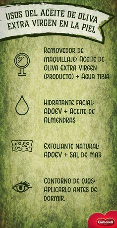 Humecta e hidrata tu piel naturalmente con este secreto milenario: Aceite de Oliva Extra Virgen.