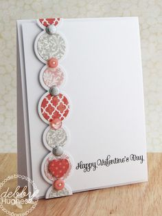 i love this card! So simple yet stunning - limedoodle.blogspot.com