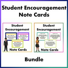Our students love to pass notes during class and some of the notes being passed around are little notes of encouragement from their friends.We thought as teachers, we should do the same because we believe a word of encouragement goes a long way.These student encouragement note cards are a great way ... School Resources, Classroom Resources, Learning Resources, Teacher Resources, Teaching Ideas, Classroom Ideas, Behavior Management Strategies, Reading Strategies, Classroom Management