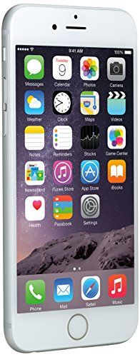 Apple Iphone 6, Silver, 16 Gb (Unlocked), 2015 Amazon Top Rated Unlocked Cell Phones #Wireless