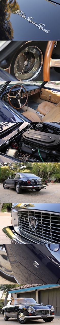 1967 Lancia Flaminia Super Sport Zagato / 152hp 2.8l triple carburetor V6 / blue black / Italy / 17-350 / girlsdrivefasttoo
