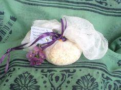 Organic Sensual and Soothing Bath Bag - pinned by pin4etsy.com