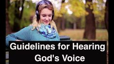 Guidelines for Hearing God's Voice/ These guidelines for hearing God's voice for His agenda will help you in your everyday life. Training Motivation, The Voice, Prayers, Teaching, God, Education, Life, Dios, Learning