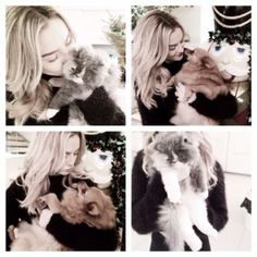 Perrie and pets (: