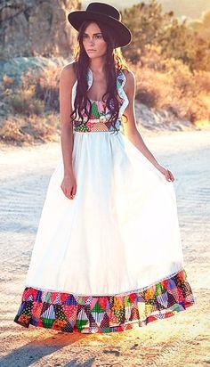 sweet bohemian dress