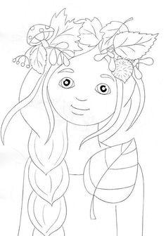 ❺ Наша начальная школа ❺ Autumn Crafts, Autumn Art, Art Education Lessons, Art Lessons, Coloring For Kids, Adult Coloring, Colouring Pages, Coloring Books, Autumn Activities For Kids