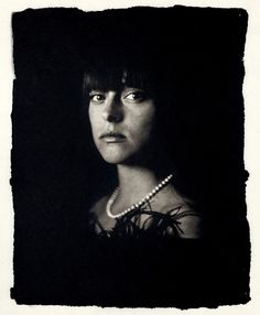 Gilles Lorin #palladium #print #wet #plate #portrait
