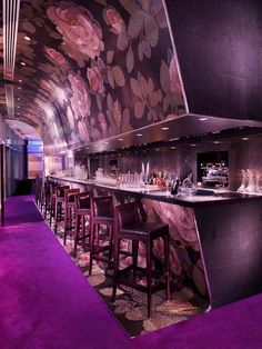 mosaic bar in reflets - intercontinental, Dubai Intercontinental Hotels Group, Pubs And Restaurants, Space Place, Mosaic Diy, Amazing Spaces, Cool Bars, Hotels And Resorts, Restaurant Bar, Night Club