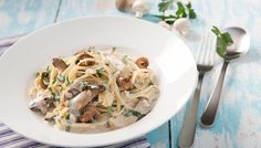Nudeln mit Pilzen / Pasta Funghi