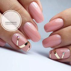 and Beautiful Nail Art Designs Cute Nails, Pretty Nails, Nail Deco, Uñas Fashion, Fashion Spring, Pink Nail Art, Soft Pink Nails, Nail Art Stripes, Manicure E Pedicure